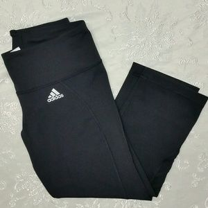 🔴Adidas Black Spandex Leggings size Medium